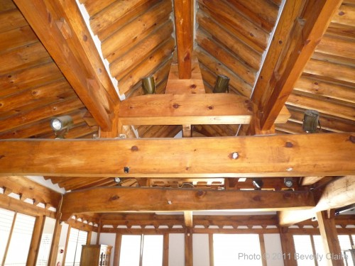 Exposed beams and rafters