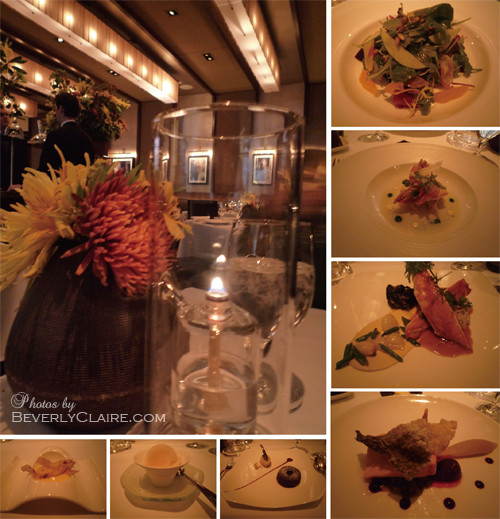 The Pre-theater Dinner at Aureole New York