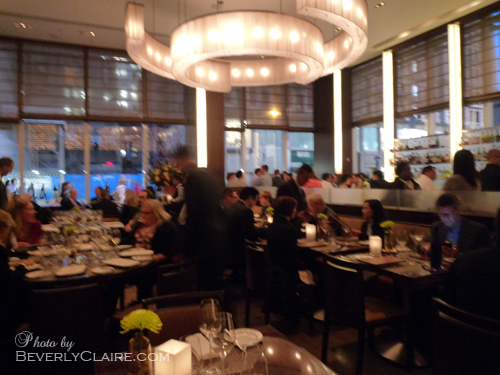 View of the Bar Room at Aureole New York