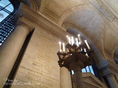 A candlestand.