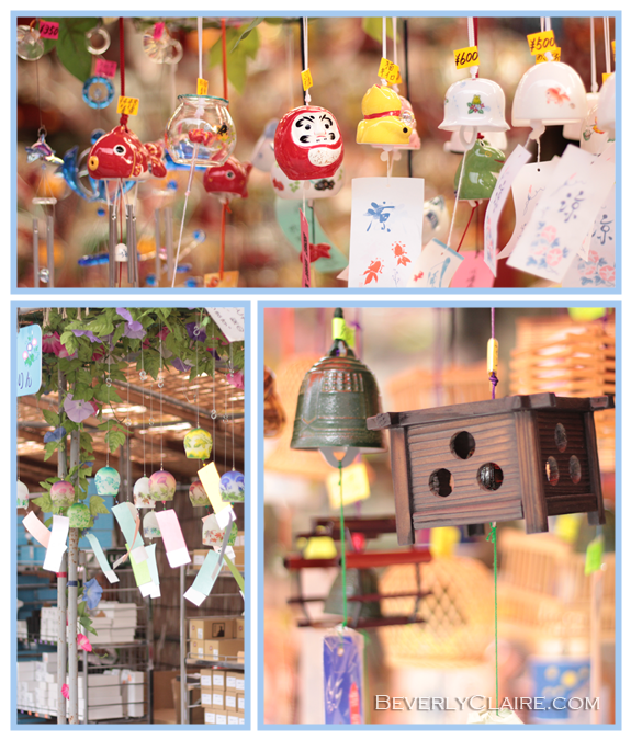 Kawasaki Daishi Wind Chime Fair at Beverly Claire Discoveries
