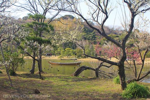 Lake at Sankeien