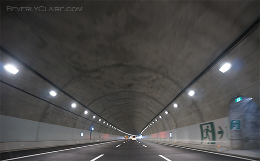 Tunnel on the Shin-Tomei Expressway