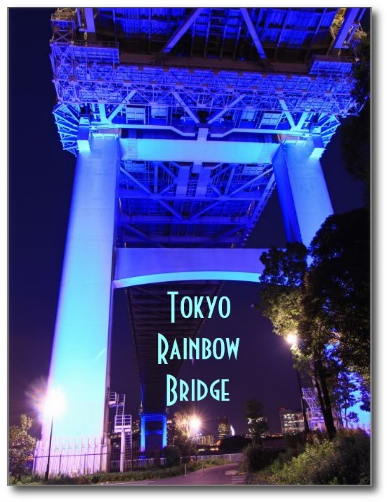 Underside of the Rainbow Bridge in Tokyo by Bevery Claire Kaiya