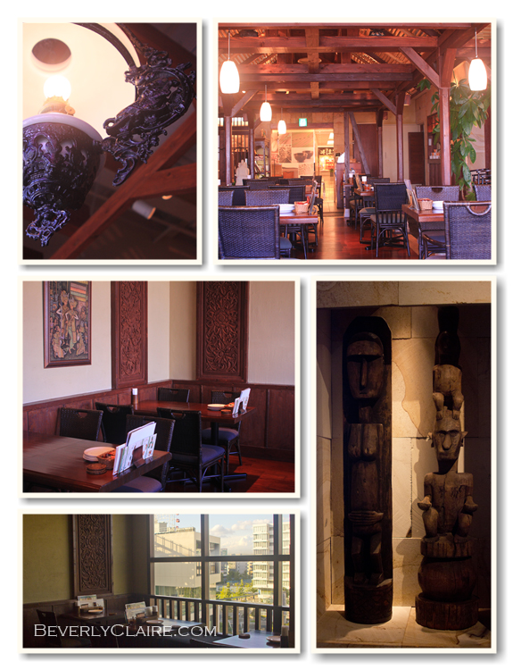 Surabaya Kouhoku restaurant interiors. Photos by Beverly Claire Discoveries.